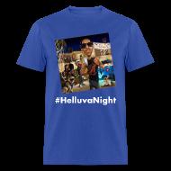 T-Shirts ~ Men's T-Shirt ~ #HelluvaNight - DTP Records