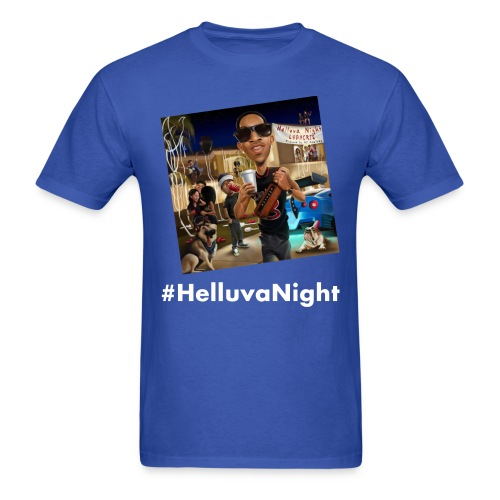 #HelluvaNight - DTP Records - Men's T-Shirt