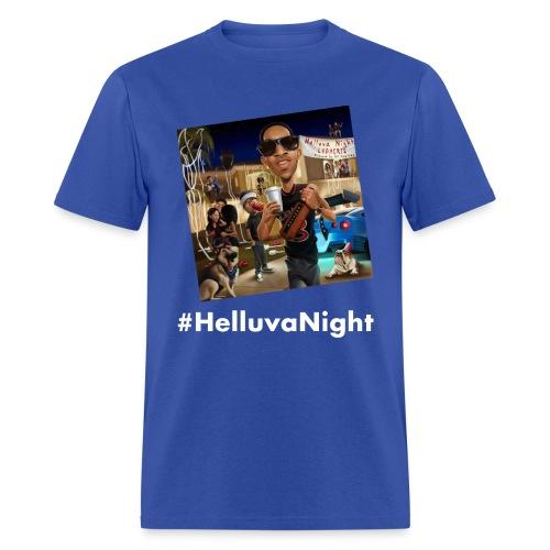 #HelluvaNight - DTP Records - Men's T-Shirt