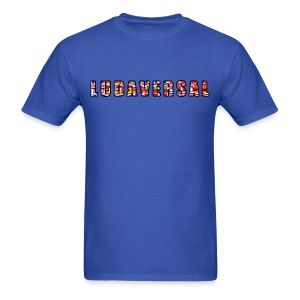 Ludaversal - DTP Records - Men's T-Shirt