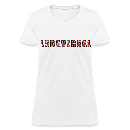 Ludaversal - DTP Records - Women's T-Shirt