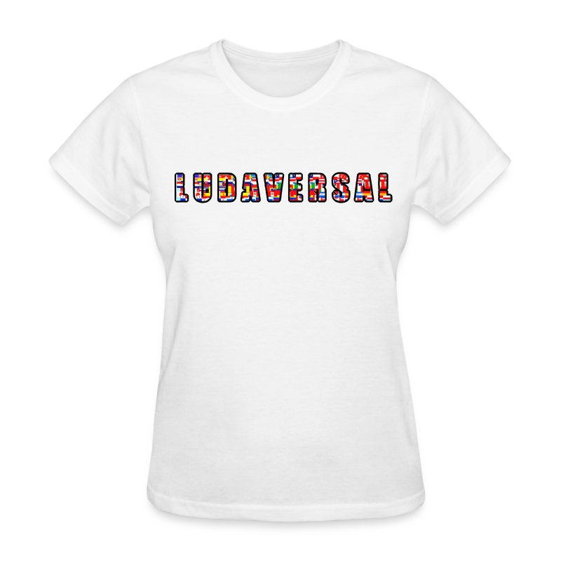 Ludaversal - DTP Records - Women's T-Shirt
