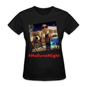 #HelluvaNight - DTP Records - Women's T-Shirt