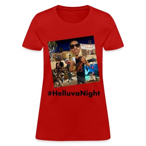 #HelluvaNight - DTP Records - Women's T-Shirt
