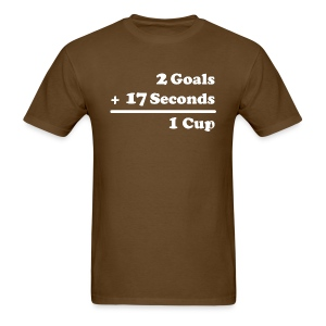 2 Goals - Men's T-Shirt