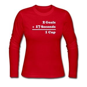 2 Goals - Women's Long Sleeve Jersey T-Shirt