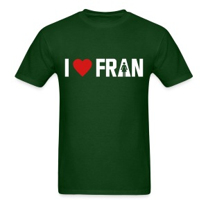 I love Fran - Crossfit - Men's T-Shirt