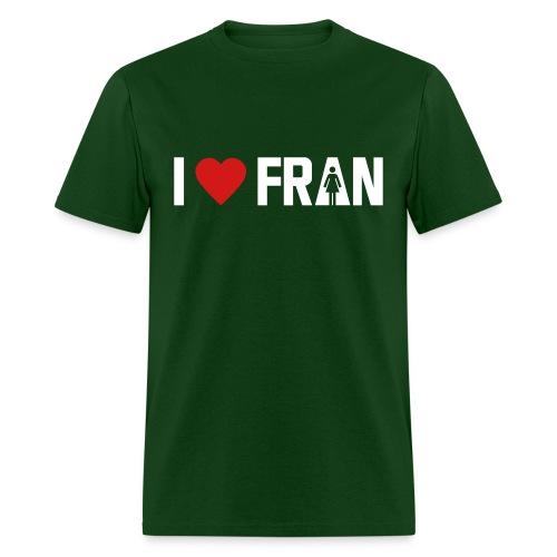 I love Fran - Crossfit - Men's T-Shirt