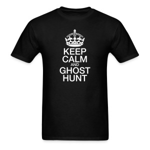 KeepCalmGhostHunt-Tee - Men's T-Shirt