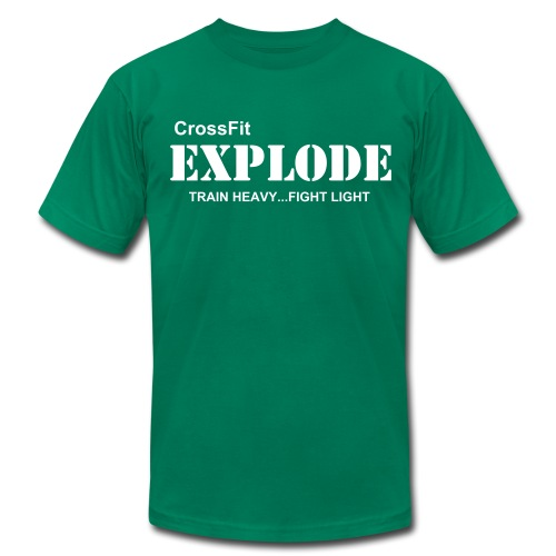 Team Explode T (white print) - Men's  Jersey T-Shirt