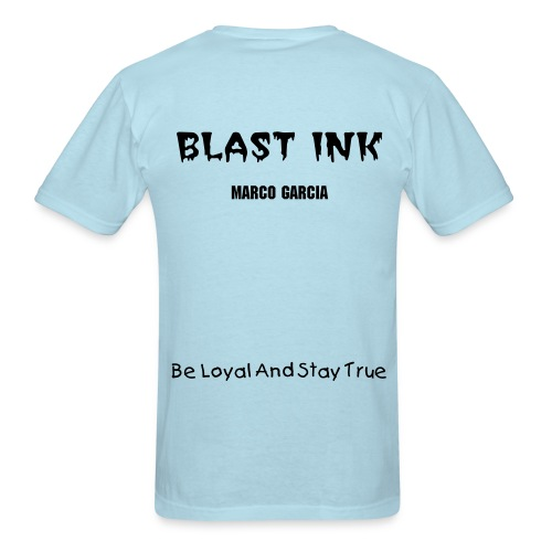 Blast Ink Design 1 - Men's T-Shirt