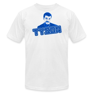 Neil deGrasse Tyson shirt - Men's T-Shirt by American Apparel