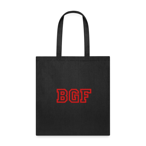 Tote Bag w/ Red Lettters  - Tote Bag