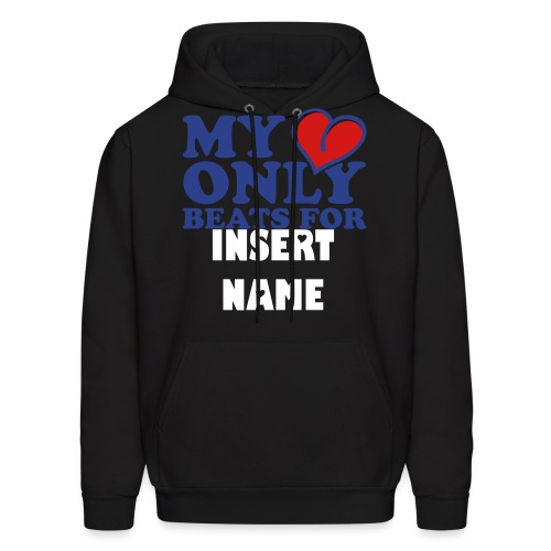 My Heart only  - Men's Hoodie