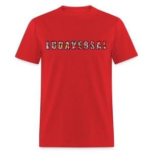 Ludaversal - DTP Records - Men's T-Shirt