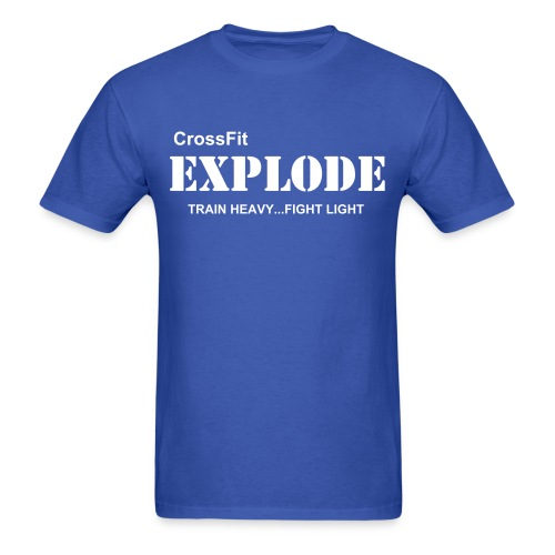 Team Explode T (white print) - Men's T-Shirt