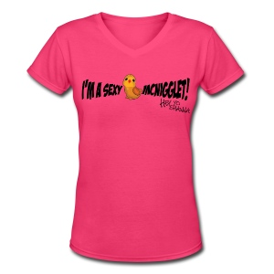 McNigglet Tee - Women's V-Neck T-Shirt