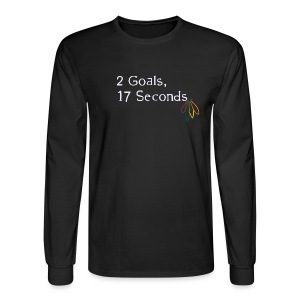2 Goals Hawks - Men's Long Sleeve T-Shirt