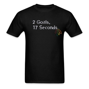 2 Goals Hawks - Men's T-Shirt