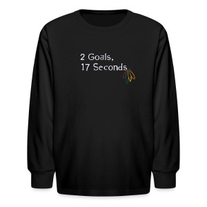 2 Goals Hawks - Kids' Long Sleeve T-Shirt