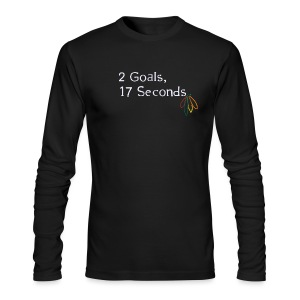 2 Goals Hawks - Men's Long Sleeve T-Shirt by Next Level