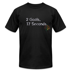2 Goals Hawks - Men's T-Shirt by American Apparel