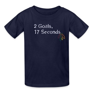 2 Goals Hawks - Kids' T-Shirt