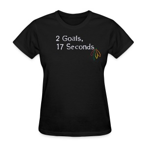 2 Goals Hawks - Women's T-Shirt