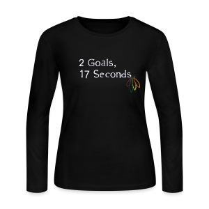 2 Goals Hawks - Women's Long Sleeve Jersey T-Shirt