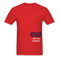 T-Shirts ~ Men's T-Shirt ~ In Case of Victory Red