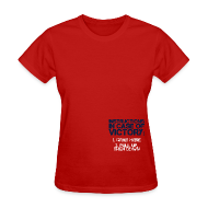 Women's T-Shirts ~ Women's T-Shirt ~ In Case of Victory Red