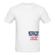 T-Shirts ~ Men's T-Shirt ~ In Case of Victory White