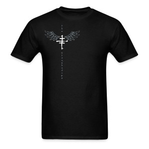 Mens offset Logo T with Wings - Men's T-Shirt