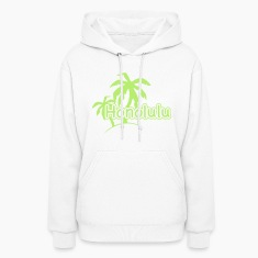 Honolulu Palm Palms Beach Hawaii 1c Hoodies