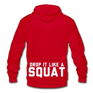 Unisex Fleece Zip Hoodie by American Apparel - Motivational Apparel | XFit Motivation | Fitness Motivation | Awesome Gear For Fitness Addicts --- T-Shirts, Long Sleeves, Sweatshirts, Tank Tops, and more! Male and Female Clothing Available + Accesories such as iPhone Cases