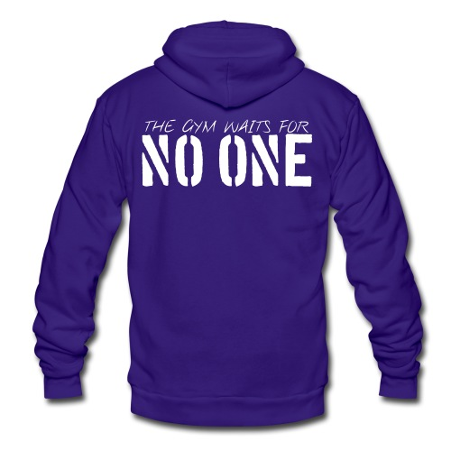 Unisex Fleece Zip Hoodie - Motivational Apparel | XFit Motivation | Fitness Motivation | Awesome Gear For Fitness Addicts --- T-Shirts, Long Sleeves, Sweatshirts, Tank Tops, and more! Male and Female Clothing Available + Accesories such as iPhone Cases