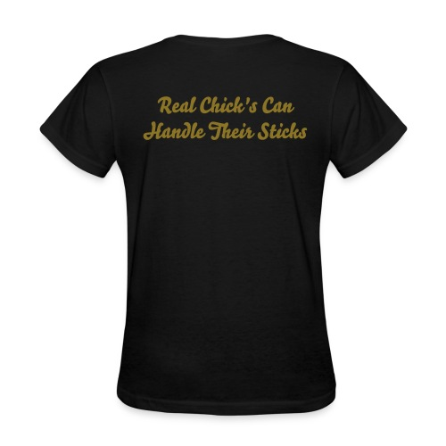 MODICK Racing Chick| STICK - Women's T-Shirt