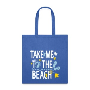 Take me to the Beach Tote Bag - Tote Bag