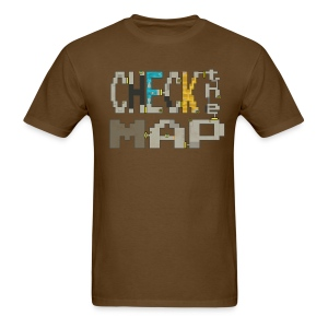 Budget Check the Map - Men's T-Shirt