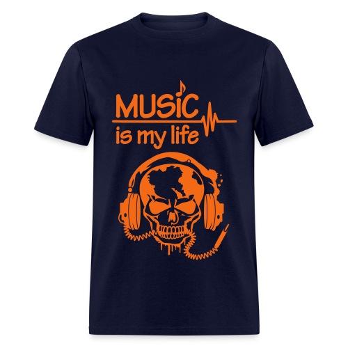 Music is Life (Men) - Men's T-Shirt