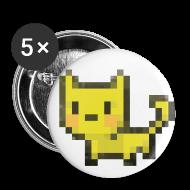 Buttons ~ Large Buttons ~ Large Kubbicat buttons