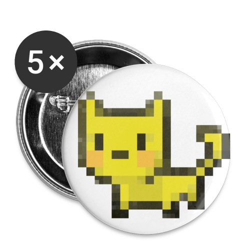Large Kubbicat buttons - Large Buttons