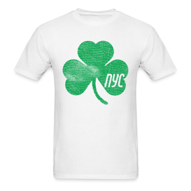NYC Shamrock  T-Shirts