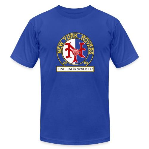 NYR BLUE American Apparel - Men's  Jersey T-Shirt