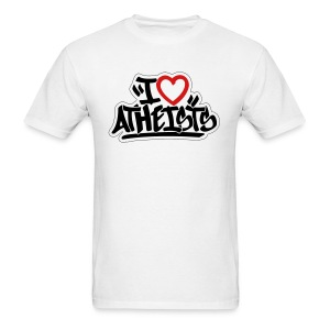 I Love Atheists by Tai's Tees - Men's T-Shirt