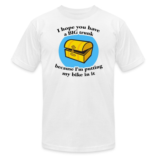 I Hope You Have a Big Trunk Heavyweight T-Shirt - Men's Fine Jersey T-Shirt