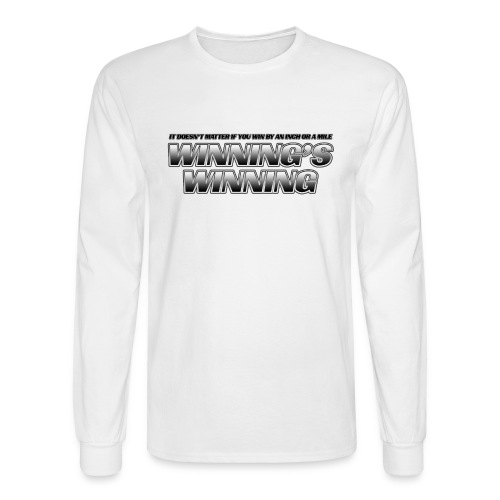 Winning's Winning Long Sleeve T-Shirt - Men's Long Sleeve T-Shirt