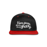 Caps ~ Snap-back Baseball Cap ~ HereGhosty-Hat