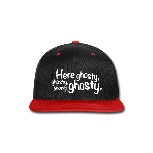 HereGhosty-Hat - Snap-back Baseball Cap