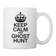 Mugs & Drinkware ~ Coffee/Tea Mug ~ KeepCalmGhostHunt-CoffeeMug